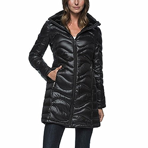 andrew-marc-ladies-featherweight-long-down-jacket-packable-black-large