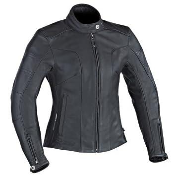 Ixon - Chaqueta para moto - Ixon Crystal Slick negro: Amazon ...