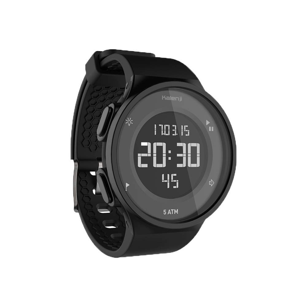 025 KTYX Sports Watch Male Electronic Watch Female Student Waterproof Electronic Watch Multi-Function Swimming Running Smart Watch (Color : Black Circle)