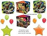 TEENAGE MUTANT NINJA TURTLES Birthday Party Mylar Balloons Decorations Supplies Movie