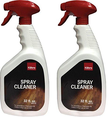 32 Oz Floor Cleaner (Kahrs Wood Floor Cleaner 32 oz spray bottle 946 ml (Pack of 2))