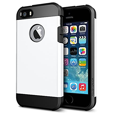 iPhone 5/5S/SE Case, [Protective Grippery Tough Case] Dual-Layer [Hard Shell PC + Flexible TPU] (Iphone 5s Cute Case Otterbox)