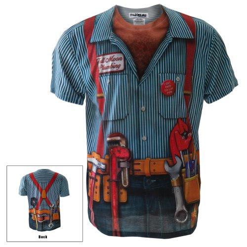 mens plumber repairman halloween costume