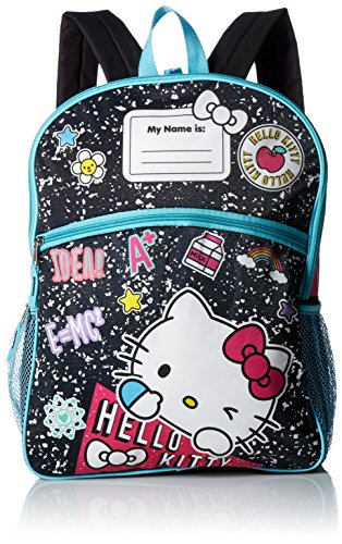 Hello Kitty Girls' 5 in 1 Backpack, Black (Hello Kitty Gifts For Girls)