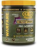 Advanced Genetics Warfare - Pre-Workout Powder - Citrulline Malate, Caffeine, Synephrine, Dendrobium, Guerrilla Grape - 40 Servings - 280 Grams