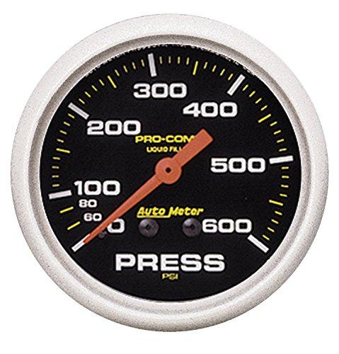 Auto Meter 5425 Pro-Comp Liquid-Filled Mechanical Pressure ()