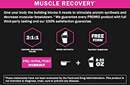 PROMIX: Cherry Limeade: BCAA powder, 2:1:1 Ratio of L-form Branched Chain Amino Acids. Dual Stage Micronized + Instanitized: No: Soy/GMO\'s. Mix Instantly. Lean Muscle and Fat Loss.
