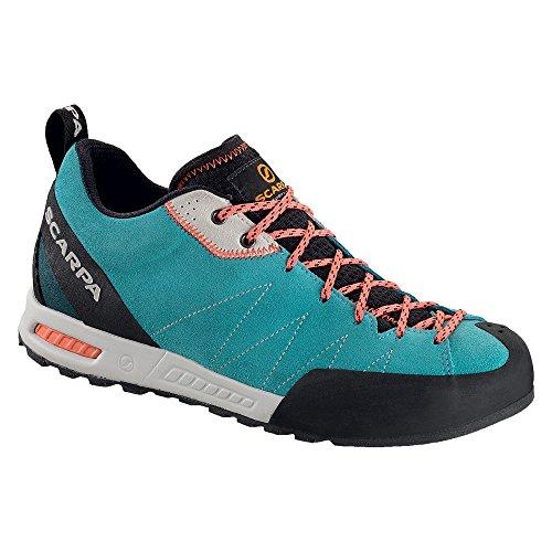 Scarpa Women's Gecko WMN Approach Shoe - Ice Fall/Coral R...