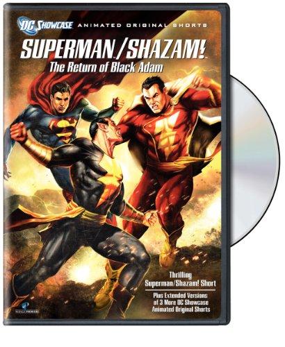 DVD : Superman / Shazam!: The Return of the Black Adam (Dolby, Eco Amaray Case)