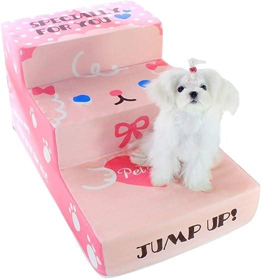 ChengLaoBan Shop Escaleras para Mascotas Pasos Desmontables Entrenamiento para Mascotas Ropa de Cama Escaleras Perros pequeños Perros Viejos Perros jóvenes Perros Especiales Rampa Escalera Mascota: Amazon.es: Hogar