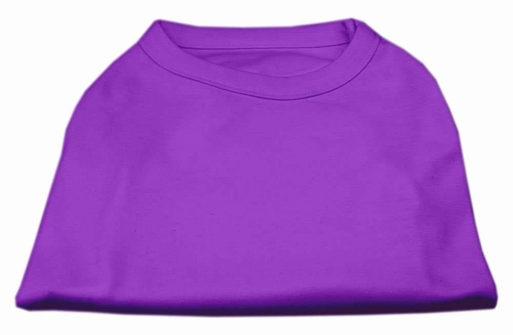 Dog   Cat   Pet Charms Plain Shirts Purple XXL (18)