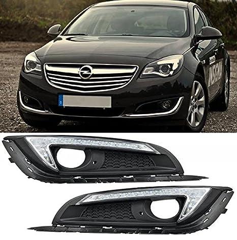 AupTech 2 x coche luces de conducción diurna LED DRL para Opel/Opel Insignia 2014: Amazon.es: Coche y moto