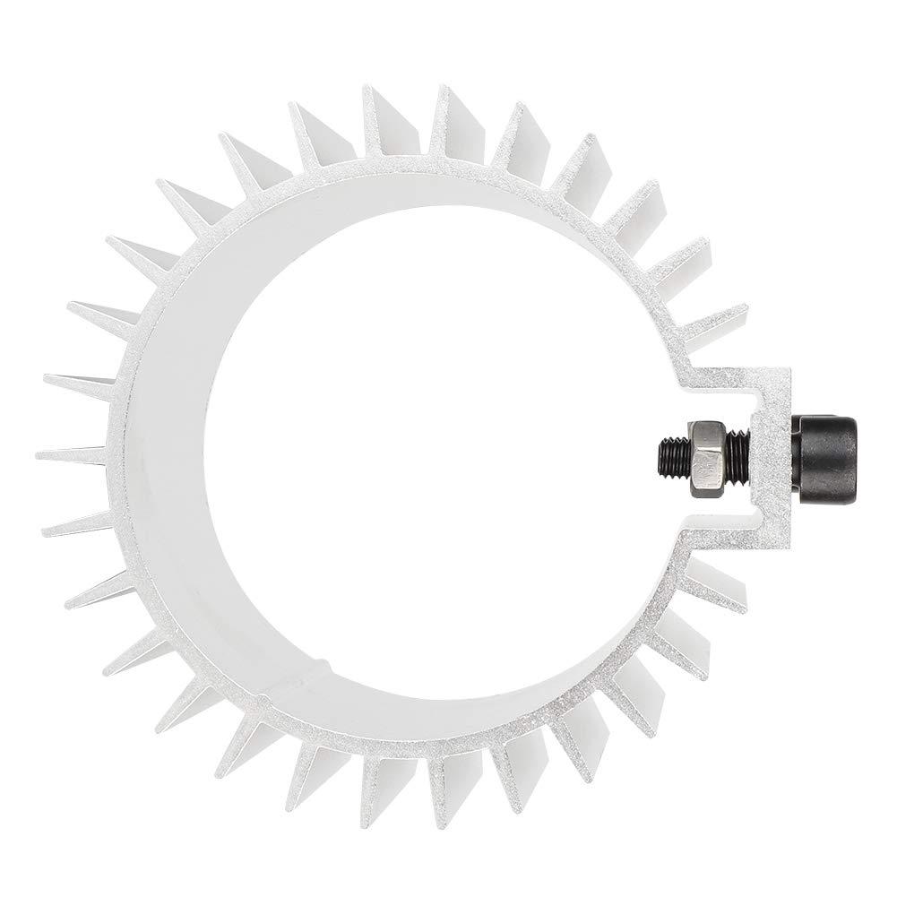 argent B/âti de moteur de billette de couverture de radiateur de refroidisseur de filtre /à huile de moteur dalliage daluminium