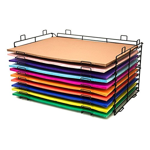 Bazic Products 20080 22 x 28 in. 10 Slots Poster Board Display Rack - Pack of 1 ()