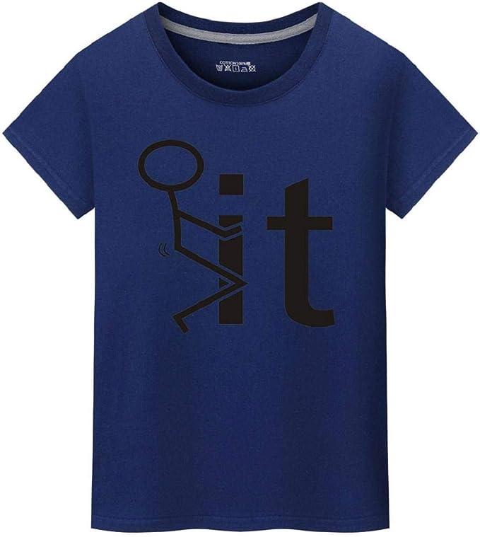 Camisetas Hombre Manga Corta, SHOBDW Camisa De Impresión De ...
