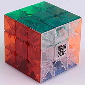 HmgSea 3X3X3 Weilong Plus 57Mm Version 2 Speed Cube Puzzle V2 Transparent