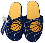 NBA Indiana Pacers Men's Team Logo Slippers Blue (XL 13-14)
