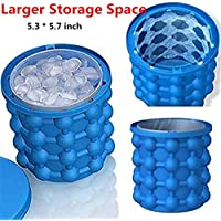 Peipei Silicone Ice Cube Maker, The Revolutionary 2 In 1 Space Saving Ice Maker - Ice Genie Kitchen Tools,3Pcs