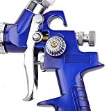 Mini HVLP Gravity Feed Air Spray Gun Kit Auto Car