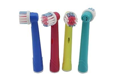 Cabezales EB-17de repuesto de cepillos de dientes para niños pequeñ
