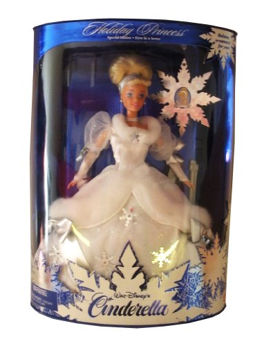 Mattel 1996 Disney Holiday Princess Cinderella Barbie