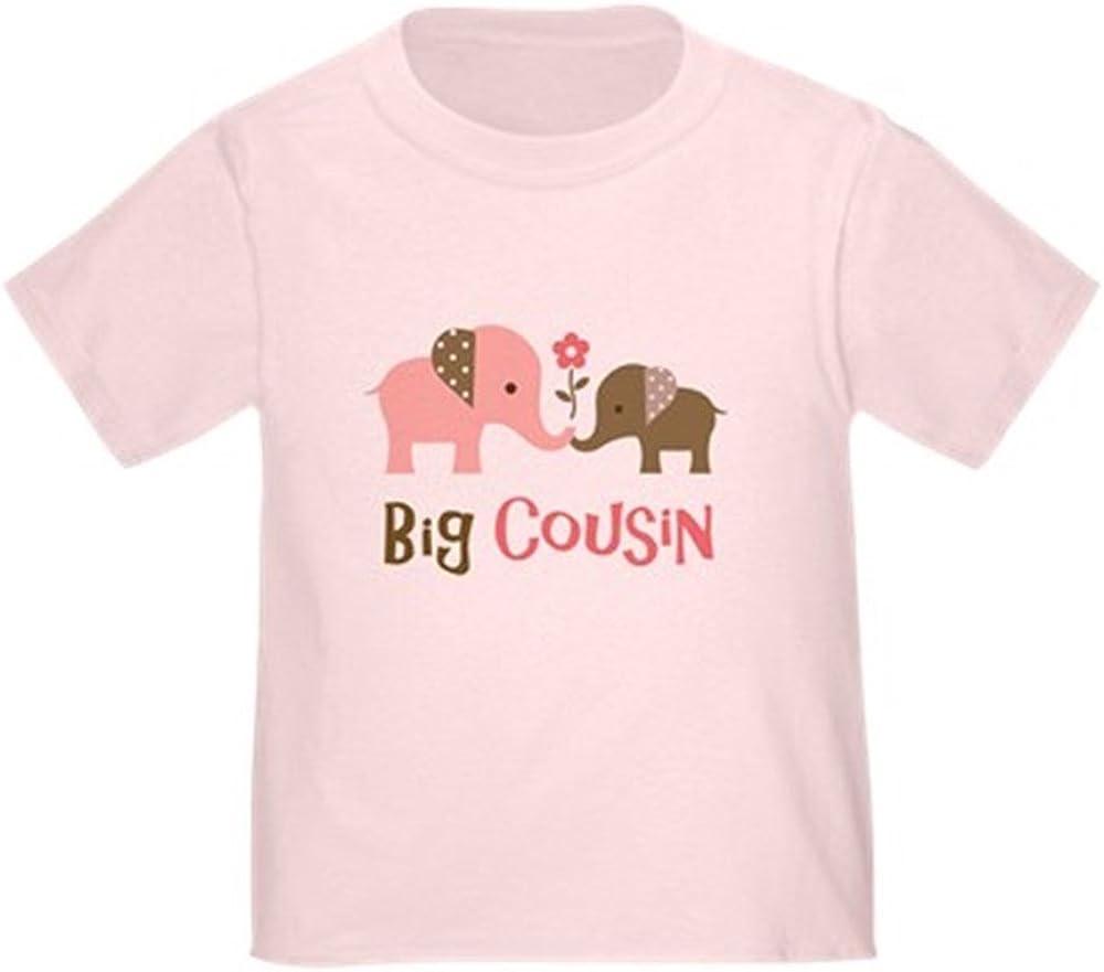 CafePress Big Cousin Elephan T-Shirt Toddler Tshirt