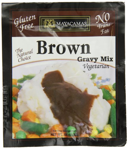 Gravy Vegetarian Mix (Mayacamas Brown Gravy Mix, 0.65-Ounce Units (Pack of 12))