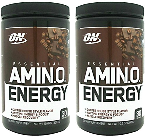 Optimum Nutrition Amino Energy Powder 30Sx2 Units (Iced Mocah Cappuccino)