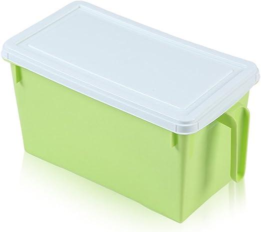NAOAO - Recipiente organizador de plástico para frigorífico o ...