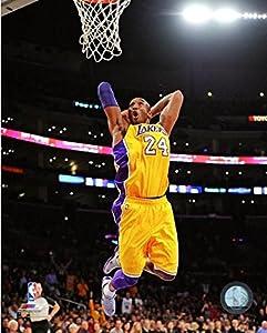 Kobe Bryant Los Angeles Lakers NBA Action Photo