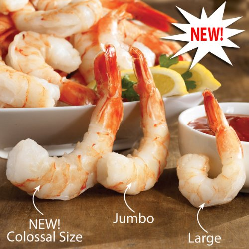 LBS OF COLLOSAL COOKED SHRIMP ()