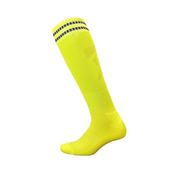 Kairuun Adulto/Niño Deporte De Fútbol Calcetines Largos Rayas Calcetines para Calcetín Hockey: Amazon.es: Ropa y accesorios
