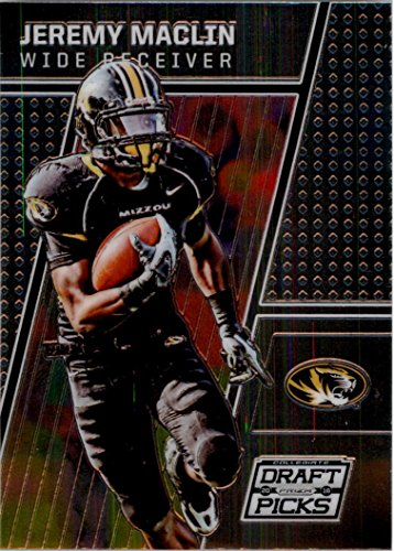 Jeremy Maclin Missouri - 2016 Panini Prizm Collegiate Draft Picks #49 Jeremy Maclin Missouri Tigers