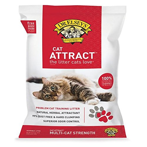Dr Elsey Cat Attract Cat Litter - DR. ELSEY'S Precious Cat Attract Cat Litter - Clumping, Multi-Cat Strength - 40 Lb - 1 pack