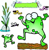 Carson Dellosa D.J. Inkers Froggie and Friends Bulletin Board Set (610009)
