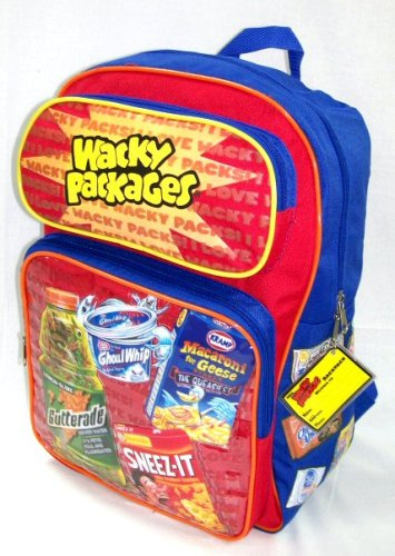 Wacky Packages Backpack for sale  Delivered anywhere in USA