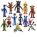"""Toy Innovation Five Nights style Action Figures Freddy Toys Dolls (12 Piece), 4"""""""