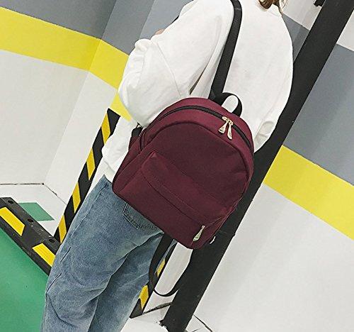 Sac À À Sauvage Simple Sac Dos XSBAO Mode Dos Loisirs Red Mini dwnqOxBz