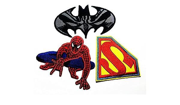 amazon com set cartoon0080 spiderman superman black man super hero rh amazon com New Moon in the Sky Spongebob SquarePants Sky
