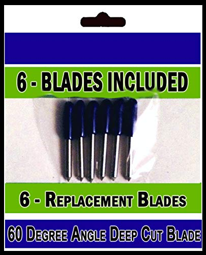 - Bridge Cutters Deep Cut Replacement Blades for Cutting Machines Compatible with Bridge Cricut Air Expression 2 Explore Maker Refine Cutters, 6 Blades