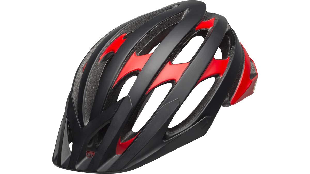 BELL Catalyst MIPS XC MTB Fahrrad Helm schwarz rot 2019