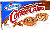 Hostess Coffee Cakes, Cinnamon Streusel, 8 Count (Pack of 6)