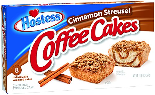 (Hostess Coffee Cakes, Cinnamon Streusel, 8 Count (Pack of 6))