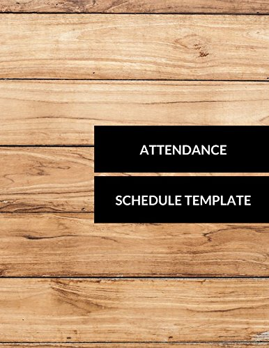 Attendance Schedule Template