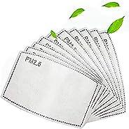 50pcs Multiple Quantity Activated Carbon Filter for Breathing PM2.5 Activated Carbon Filter 5 Layers (50pcs)