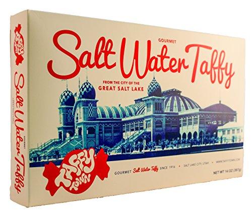 Taffy Town Gourmet Salt Water Taffy, Assorted Gift Box, 14 Ounces ()