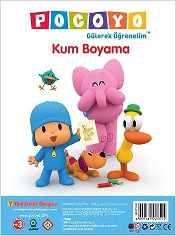 Pocoyo Kum Boyama A 4 Amazoncouk Kolektif Books