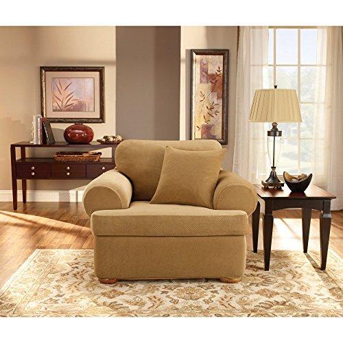 Sure Fit SF32265 Stretch Pique - Antique, Chair