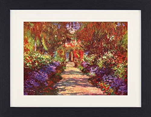 1876 Gerahmtes Poster F/ür Fans Und Sammler 40 x 30 cm 1art1 114052 Claude Monet Der Monceau-Park