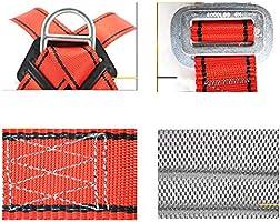 MYLW Arnés de construcción Arnés anticaídas 5 Puntos de Seguridad ...
